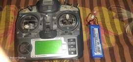Turnigy 9x 9Ch Transmitter + Battery 2650mAh Lipoly