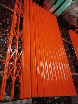 Folding gate rolling door harmonika terbaik di tangerang