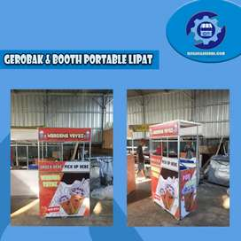 Booth Portable Lipat Design Kece