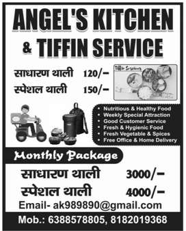 Angel's Kitchen & Tiffin Service