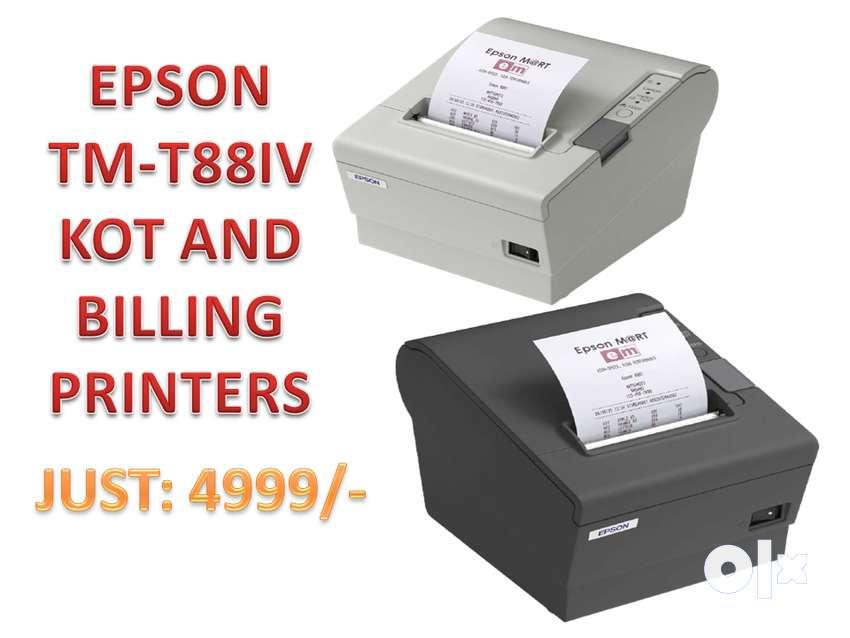 Epson TM-T88Iv Thermal Billing Printer and KOT Printer