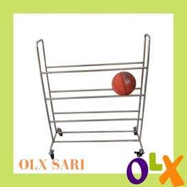 Rak Penyimpanan Bola Basket Tbl-27 murah