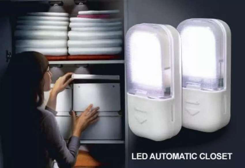 PROMO - Lampu Sensor Lemari Otomatis / Lampu Lemari Led Otomatis 0