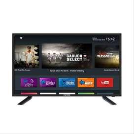 Android Smart TV + MOLA 32 Inch Polytron Garansi 5 Tahun PLD 32AD1508