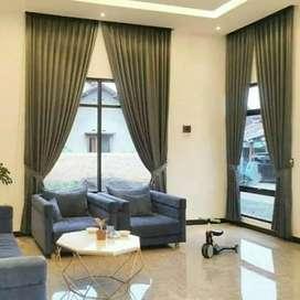 Gorden jendela berbagai pilihan bahan, motif dan warna / gordyn p28