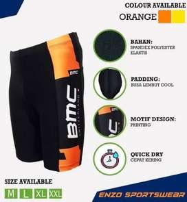 Gratis ongkir/COD - Celana Roadbike BMC Orange