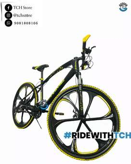 TCH BRAND NEW PRIME BICYCLE WITH 21GEARS AND DUAL DISC BRAKES