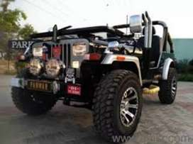 new look modified jeep