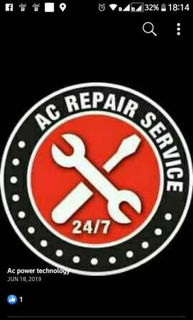 AC repair service installation and maintenance at your door step.
