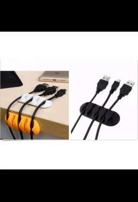 Desk Cable Clip / Penjepit Kabel