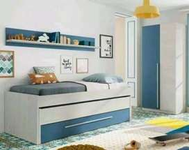 Kamar set interior rumah mewah