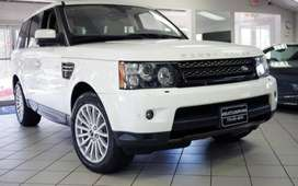 White Color Range Rover Sport of Diesel model of 2012 model for sale