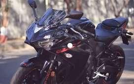 Yamaha r3 new bike 15 days since buyed