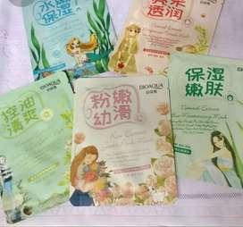 Masker bioaqua sheet mask skin care moisturizer