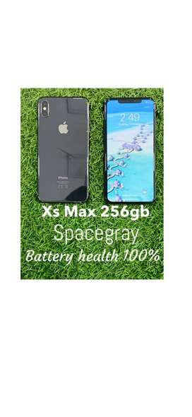 Iphone xs max 256gb fixed price