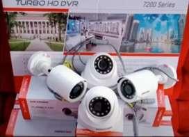 Paket Cctv indoor dan outdoor camera 2mp
