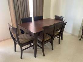 Dining Set Pure wood very good quality