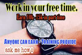 Work from your free time