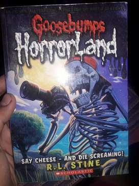 Goosebumps: SAY CHEESE AND DIE SCREAMING
