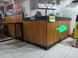 Meja Bar Kayu Minimalis