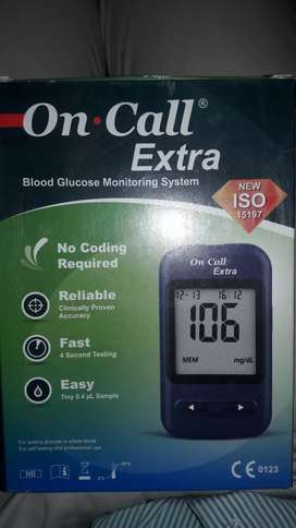 On Call Blood Glucose Meter