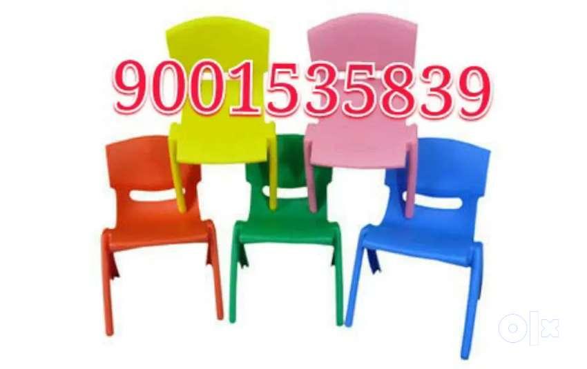 New play school furniture kids plastic chairs / kindergarten furniture 0