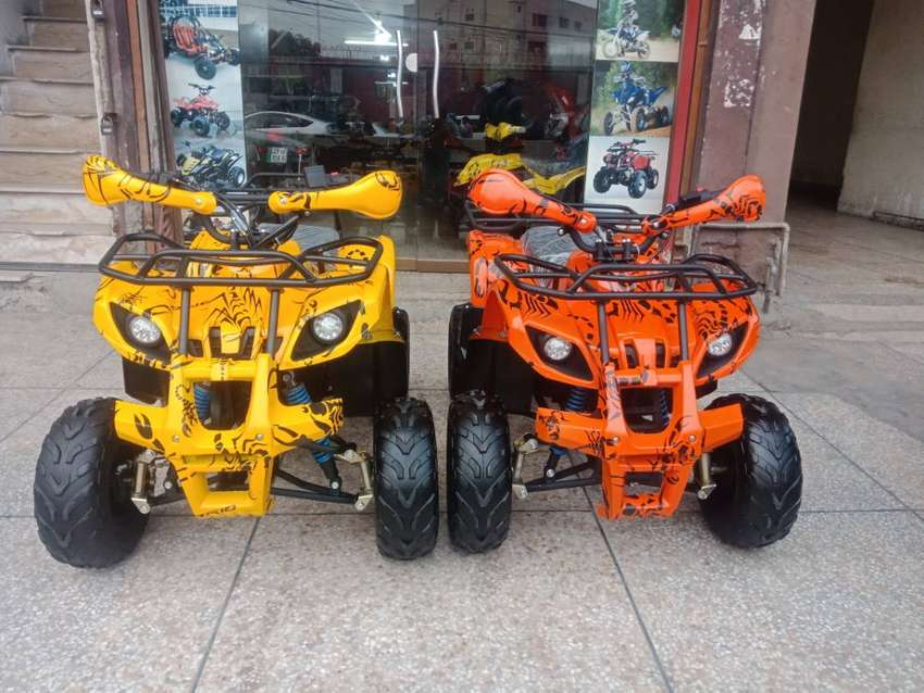 Durable & Powerful Engine 125cc Atv Quad 4 Wheels  Deliver In All Pak 0