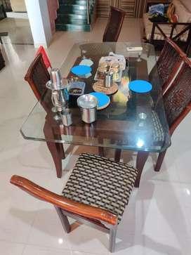 4 usha lexus dining chairs