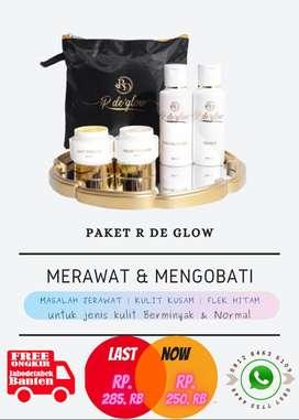 Satu Paket Skincare Kulit Wajah Rina Diazella Skincare Bebas Merkuri