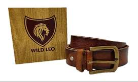 Wildleo Leather Belts For Men MOQ-120pc