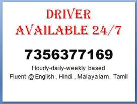 Drivers available in kochi (24/7)