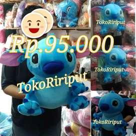 Boneka LILO STICH Stitch biru jumbo 50cm