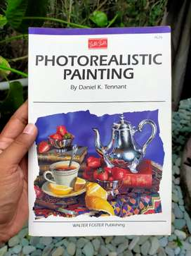 Buku Seni Impor Photorealistic Painting