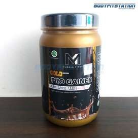 Muscle First Gold Pro Gainer 2 Lbs   gain M1 mass Protein suplemen