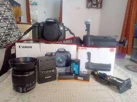 Jual Canon 60D + BG murah