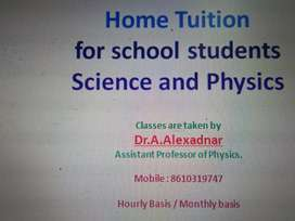 Home tuition by me