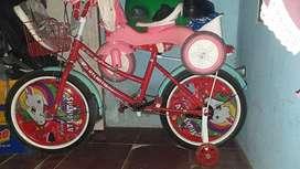 Jual sepeda anak perempuan