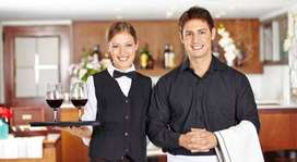 URGENTLY REQUIRED WAITER & STEWARD