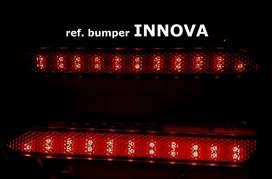 reflektor led bemper belakang innova