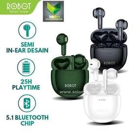 Headset BT Robot Earphone Airbuds T10 Waterproof IPX4 TWS Wireless
