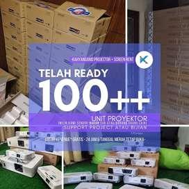 Pusat Sewa Proyektor dan Rental Screen Murah Ready 24 Jam Unit Lengkap