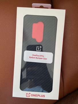 Oneplus 8 pro karbon bumper case