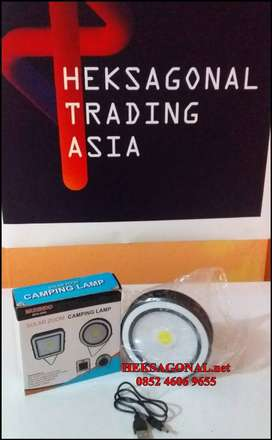 Lampu Camping Solar Cell Surya LED SMD