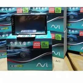 "HEAD UNIT 7"" DOUBLE DIN AVI JAPAN DESIGN PLUS PASANG DI CILEDUG"