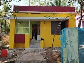 4.5cent bike going way house for sale near Kannanmoola.(with drainage)