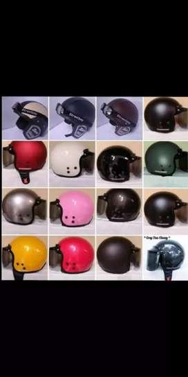 Helm carglos retro