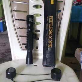 Riflescop untuk senjata
