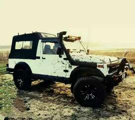 All type modified Jeep Gypsy and our Mahindra