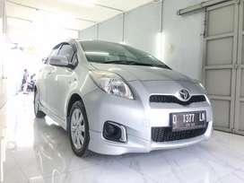 Toyota Yaris E MT MANUAL 2012 Silver