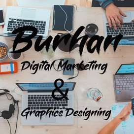 Digital marketing and graphics designing